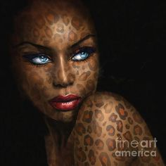 ART Shops:  https://1-angie-braun.pixels.com/ ✿ http://www.redbubble.com/people/angiebraun ✿ http://theo-danella.pixels.com ✿ http://www.redbubble.com/people/theodanella    ✿ #woman #painting #black #beauty #blueeyes #oilpainting #artsy #art #beautiful #blackbeauty #africa #redlips #sensual #sexy #amazing #girl #fineart #deco #smile #wonderful #mocca #blackpainting #blonde #marilynmonroe  #smile #texture #unique