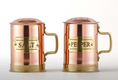 These would be perfect in my dream kitchen. 2-Pc. Copper Salt & Pepper Set on One Kings Lane today