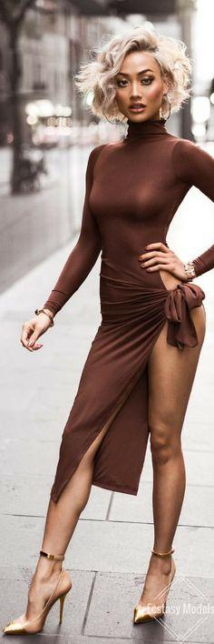 High splits & high heels // Fashion Look by Micah Gianneli