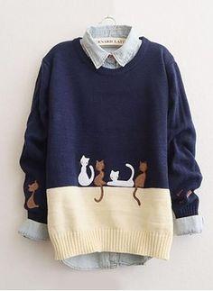 Venta en Línea de Suéters y sudaderas de Mujeres Baratos A La Moda  ed472e5bfaf4
