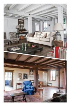 Avant / après : une maison Landaise. #bricolage #rénovation #bricolons