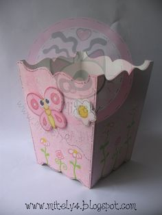 Cute basket Decoupage, Arte Country, Country Paintings, Container, Basket, Cute, Crafts, Boxes, Ideas
