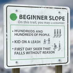Here's a brief breakdown of what you can expect from each slope level on your next skiing or snowboarding trip. [college humor] [via] Skiing Memes, Skiing Quotes, Ski And Snowboard, Snowboarding, Nascar Quotes, Ski Racing, I Love Winter, Winter Fun, Ski Season