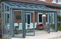 aluminium lean to conservatory