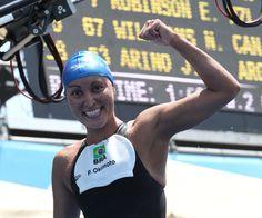 Open Water Swimming - Poliana Okimoto The new world champion in 10 k in Barcelona Open Water Swimming, Champion, Barcelona, Bra, Sports, Hs Sports, Bra Tops, Barcelona Spain, Sport