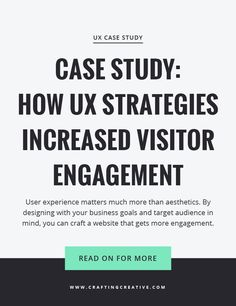 This case study dives into my web design process (which is different from most designers out there) and how we got double-digit analytics improvements.