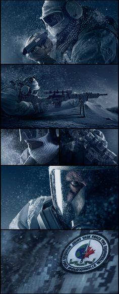 Rainbowsix Siege - Black Ice on Behance