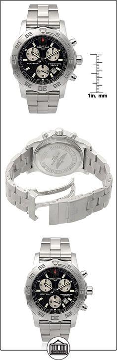 Breitling Mens Colt Cronógrafo dual tiempo zona Link reloj  ✿ Relojes para hombre - (Lujo) ✿