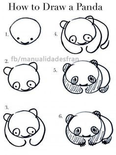 How to draw a Panda.