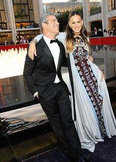 Andy Cohen was BFF Sarah Jessica Parker's date at the 2014 Fall Gala.