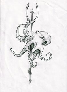Poseidon's trident by agentcoleslaw on deviantART