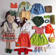 Джули ♥ обожаю: Jouer ля poupée