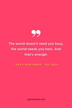 Want a less hectic life? Kate Northrup discusses her new book, 'Do Less' and the science-backed strategies to doing less without sacrificing results. Stress Management Strategies, Time Management Tips, Marie Tv, Kate Northrup, Feeling Burnt Out, Marie Forleo, Negative Thoughts, Nice Thoughts, Do You Work