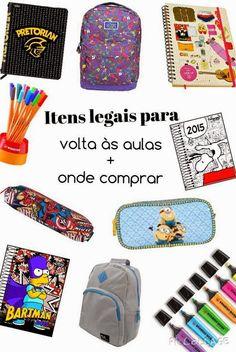 Itens legais para volta ás aulas + onde comprar    por Maria Isabel Chagas Xavier | Julia's Diary       - http://modatrade.com.br/itens-legais-para-volta-s-aulas-onde-comprar