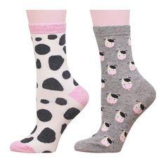 Cow spots woman socks,cow pattern socks for woman,cow theme socks,2 pairs #xuguoying #Casual