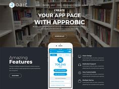 Robic - WordPress Landing Page Theme designed by DevItems LLC. Connect with them on Dribbble; the global community for designers and creative professionals. Landing Page Html, Wordpress Landing Page, Page 404, Joomla Templates, Ui Inspiration, Page Template, Clean Design, Lorem Ipsum, Create Yourself