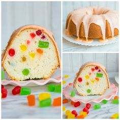 Decadent and delicious Gumdrop Cake! Perfect for your next party or holiday gathering! Gum Drop Cake, Baking Recipes, Cake Recipes, Baking Desserts, Stuffing Recipes For Thanksgiving, Thanksgiving Turkey, Gluten Free Stuffing, Cookie Decorating Party, Homemade Cornbread