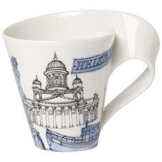 Villeroy & Boch - 'New Wave Caffe' Collection - 'Cities of the World' Mug, 10.1oz., Helsinki