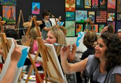 Spirited Art | Laugh. Sip. Paint! An optimistic and creative painting class!