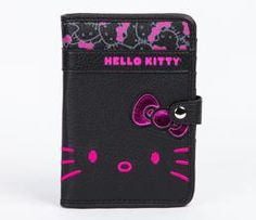 Hello Kitty Passport Case: Big Pink Bow