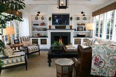 living room via COTE DE TEXAS