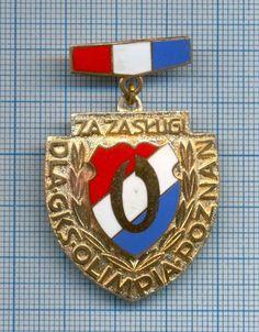 "Rare Football Club ""Honorary"" Badge/Pin GKS Olimpia Poznan Poland"