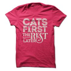 This Shirt Makes A Great Gift For You And Your Family. Cats First .Ugly Sweater, Xmas Shirts, Xmas T Shirts, Job Shirts, Tees, Hoodies, Ugly Sweaters, Long Sleeve, Funny Shirts, Mama, Boyfriend, Girl, Guy, Lovers, Papa, Dad, Daddy, Grandma, Grandpa, Mi Mi, Old Man, Old Woman, Occupation T Shirts, Profession T Shirts, Career T Shirts,
