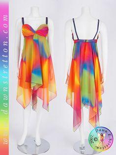 99 Best Rainbow Wedding Dress Images Colors Costumes
