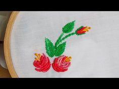 Hand Embroidery: Bullion roses - YouTube