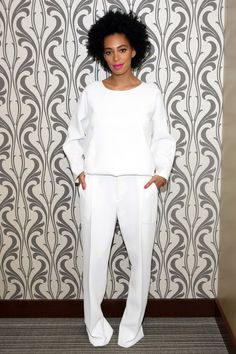 Solange total white