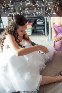 Have you ever wondered WHY a bride puts a sixpence in her shoe? Find out the reason from www.abrideonabudget.com. Wedding Gowns, Wedding Cakes, Wedding Stuff, Dream Wedding, Romantic Wedding Inspiration, Wedding Planning Tips, Mother Of The Bride, Wedding Colors, Rustic Wedding