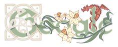 Google celebrates St David's Day with its latest doodle