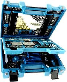 В качестве ПОДАРКА при покупке бензопилы, каждый покупатель может получить практичный и удобный набор D-37194 Makita из 200 инструментов!