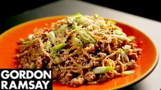 Stir-Fried Spicy Pork Noodles - Gordon Ramsay