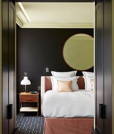 MODERN HOTEL SUITE| Rooms and Suites - Le Roch Hotel and Spa in Paris, France  | bocadolobo.com | #luxuryhotels #besthotels