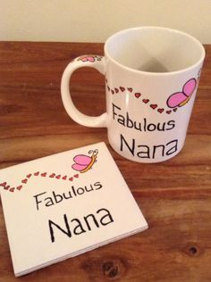 Mug and coaster sets - The Supermums Craft Fair