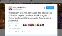 Lula continua mentindo na cara dura, e a imprensa continua deixando pra lá