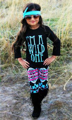 """""""I'm A Wild One"""" Aztec Boutique Set"""