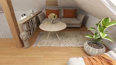 PODDASZE BOHO Interior Rendering, Interior Design, Animal Print Rug, Boho, Rugs, Home Decor, Nest Design, Farmhouse Rugs, Decoration Home