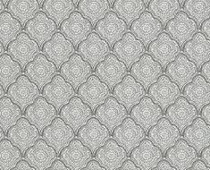 Kashmira  Ivory/Charcoal wallpaper by Baker Lifestyle
