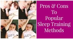 Pros and Cons of baby sleep training methods and books