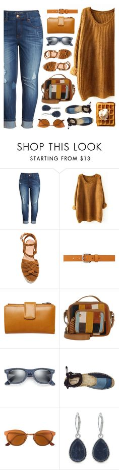 """""""Untitled #2407"""" by countrycousin ❤ liked on Polyvore featuring Melissa McCarthy Seven7, Castañer, Isabel Marant, Status Anxiety, See by Chloé, Ray-Ban, Soludos, RetroSuperFuture and Nine West"""