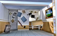Anti gravity room