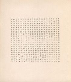 herman de vries, random structured semiotic fields