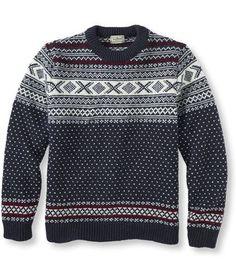 L.L.Bean Norwegian Sweater - made in Norway http://www.llbean.com/llb/shop/80656?qs=3077620&cvosrc=social%20network.pinterest.20141031