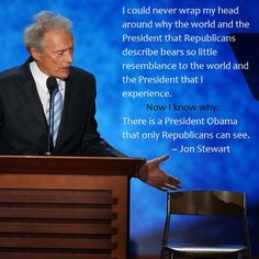 Jon Stewart takes on Clint Eastwood and the now-infamous empty chair in this epic Daily Show segment.