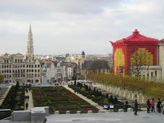 View over Brussels from the Square by Karen V Bryan, via Flickr