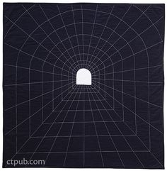 Modern Applique Illusions: Tunnel Vision (by Casey York)