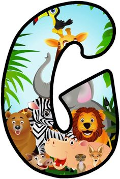 Jungle Safari Png Picture - Safari Animals Letter R is a free transparent png image. Search and find more on Vippng.