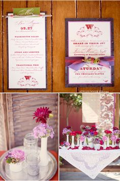 I love these wedding colors ; i'm still undecided for a color scheme, but i really like this one!